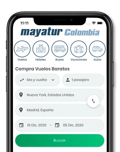 App Mayatur Colombia
